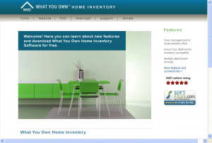 What You Own Home Inventory Software